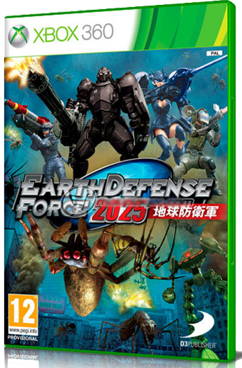 [XBOX360] Earth Defense Force 2025 (2014) - MULTI ENG