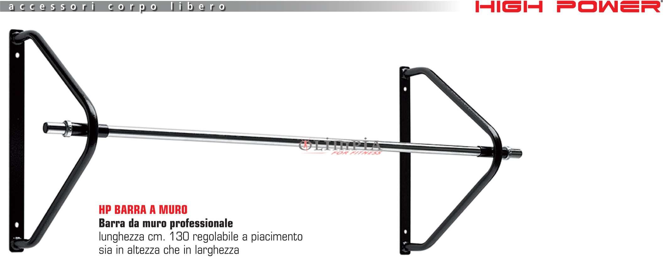 HIGH POWER - BARRA / SBARRA FISSA a MURO Professionale per TRAZIONI - L. 130c...