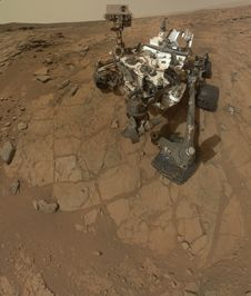This self-portrait of NASA&#39;s Mars<br />