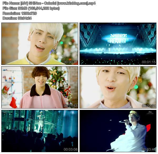(MV) SHINee - Colorful (HD 720p Youtube)