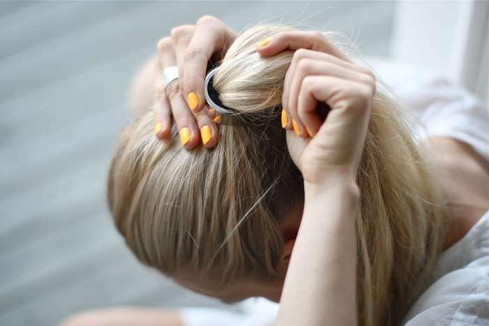 over the undies  Diy dries hair 37572f8f33f