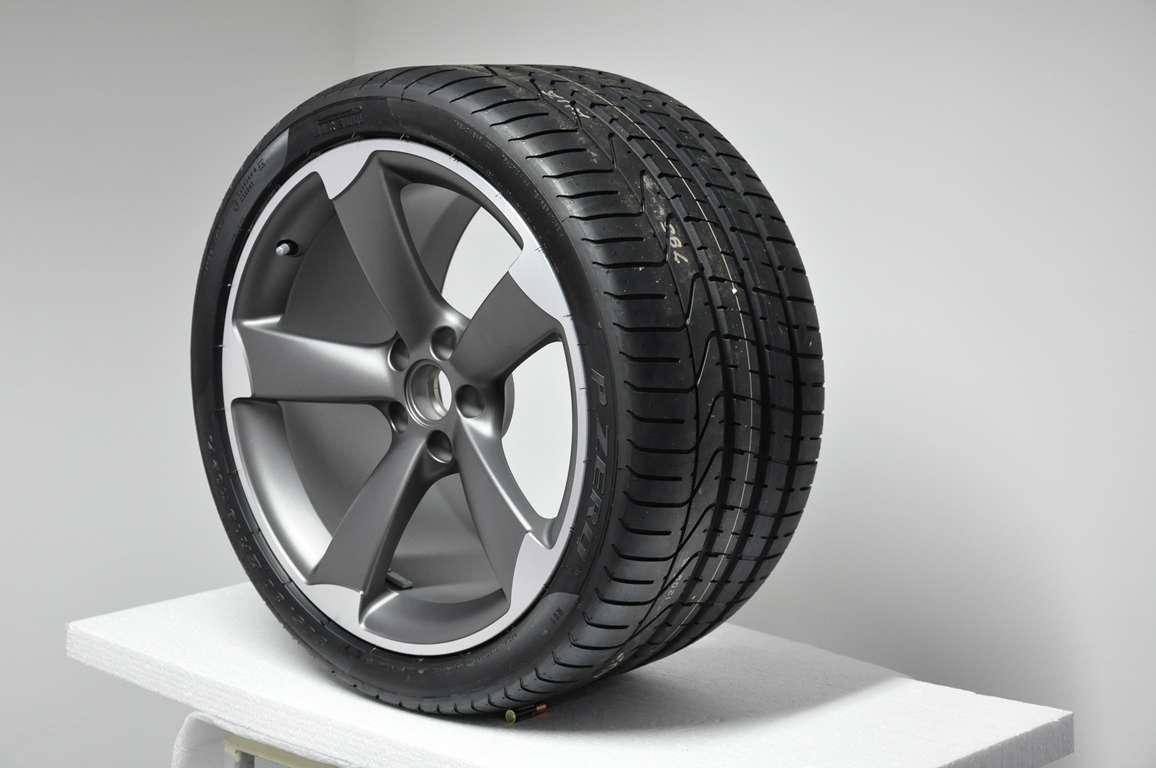 fs new audi r8 titan rotor wheels with new pirelli pzero tires. Black Bedroom Furniture Sets. Home Design Ideas